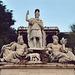 Sculptures on the Pincio Hill in Rome, Dec. 2003
