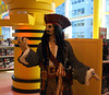 Detail of the Lego Jack Sparrow in FAO Schwarz, May 2011