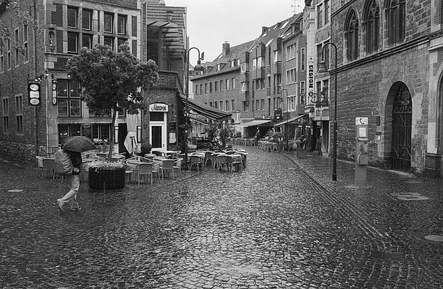 rainy Aachen