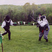 Llywellan and Marian Fencing at Ian & Katherine's Last Championships, May 2006