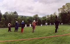 Archers at Ian & Katherine's Last Championships, May 2006