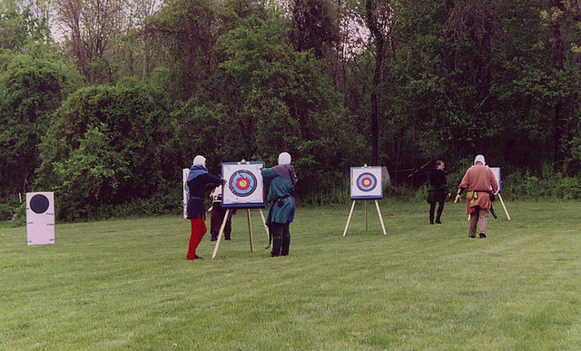 Archers at Ian & Katherine's Last Championships, May 2006