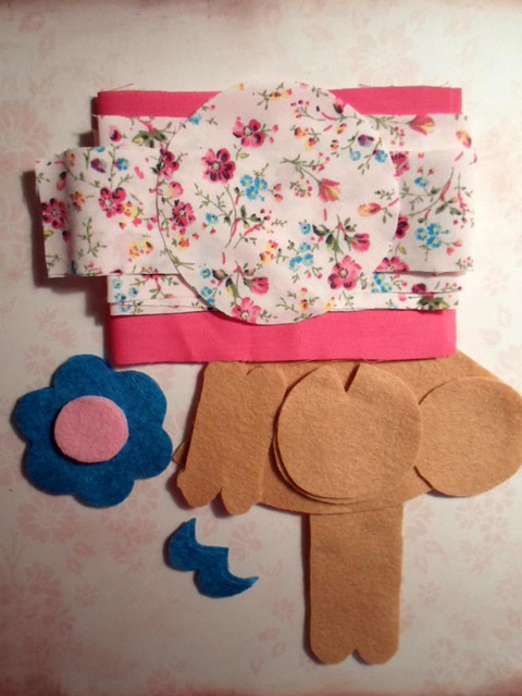WIP Sewing Doll Holder