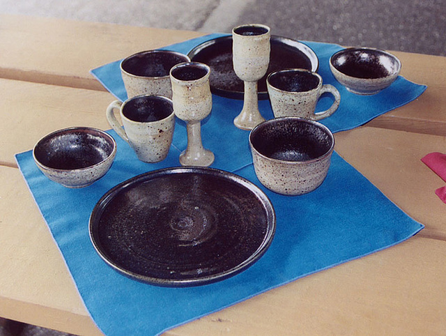 Pottery at the Last Championships,  May 2006