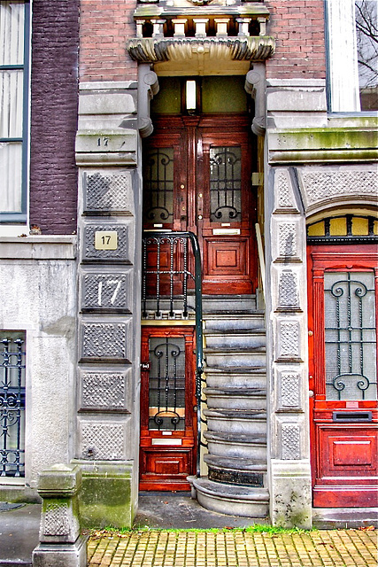 Doorway in Amsterdam