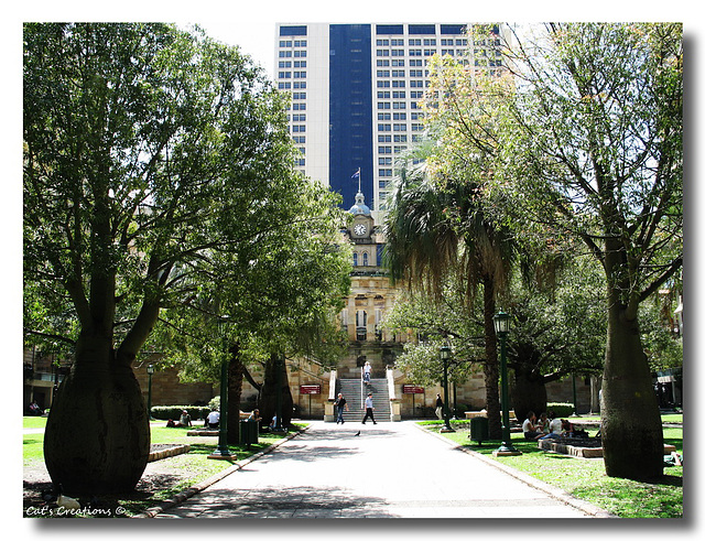 Anzac Square, Brisbane, Queensland, Australia