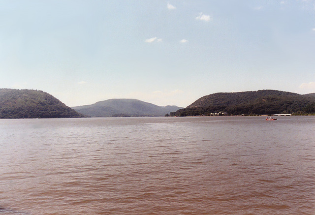 The Hudson River from Peekskill, Aug. 2006