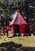 Mistress Brianna McBain's Red and Black Tent at the Peekskill Celebration, Aug. 2006