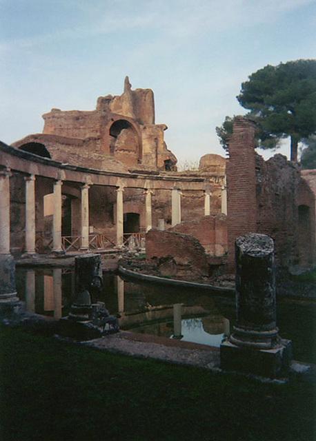 The Maritime Theatre in Hadrian's Villa, 2003