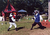 Fencing at the Peekskill Celebration, Aug. 2006