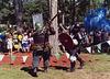 John the Bear & Aaron Fighting at the Peekskill Celebration, Aug. 2006