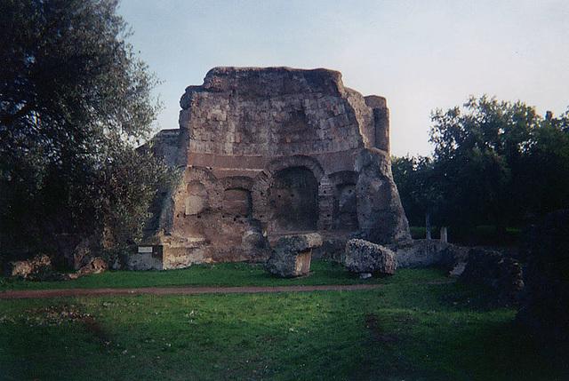 Hadrian's Villa, December 2003