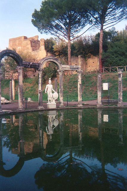The Canopus in Hadrian's Villa, 2003