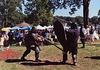 John the Bear & Mael Eoin Fighting at the Peekskill Celebration, Aug. 2006