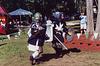Aaron Fighting Nickolai at the Peekskill Celebration, Aug. 2006