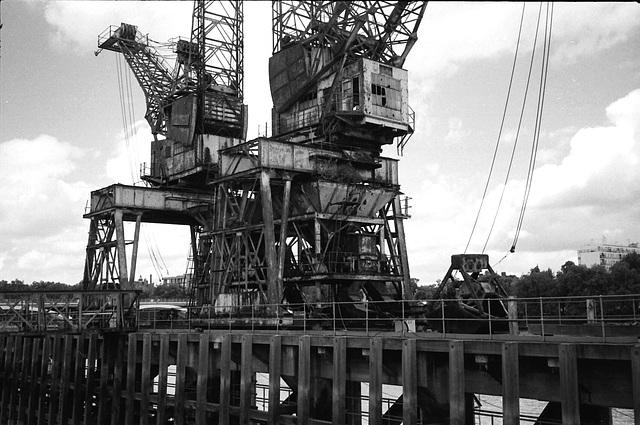 Cranes, Battersea.