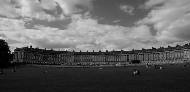 Bath Royal Crescent X-E1 1