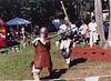 Sancha & Ervald Fighting at the Peekskill Celebration, Aug. 2006