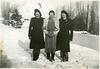 (655) Liv (Svendsen) Klungland, Ingrid (Hansen?) og Hilma (Svendsen) Solem