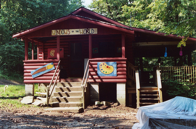 Cabin at Camp Coombe, Sept. 2006
