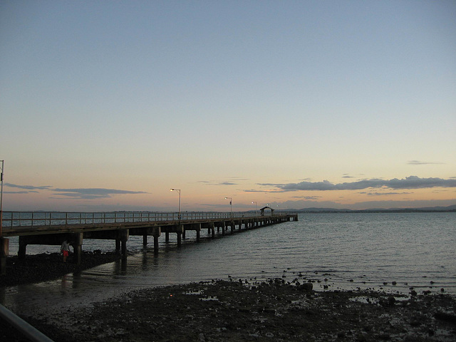 Woody Point Jetty, Redcliffe, Queensland, Australia