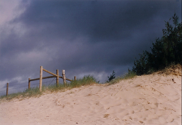 Storm Above The Dunes