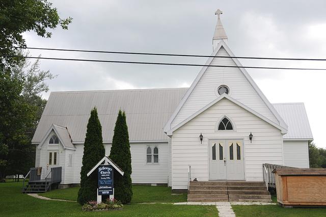 St. George's Church, Echo Bay, Ontario