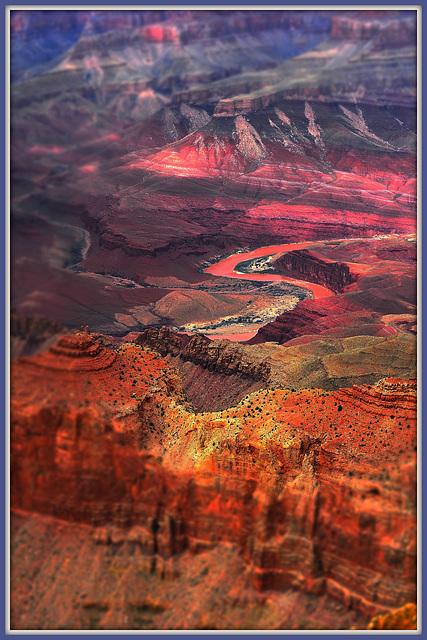 Colorado im Grand Canyon (AZ)