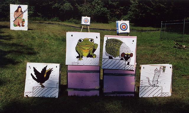 Archery Targets at Barleycorn, Sept. 2006