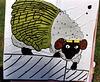 """Sheep """"Ian"""" Target at Barleycorn, Sept. 2006"""