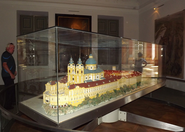 model of the Abbey