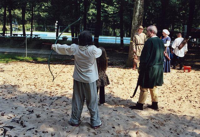 Archers at Barleycorn, Sept. 2006