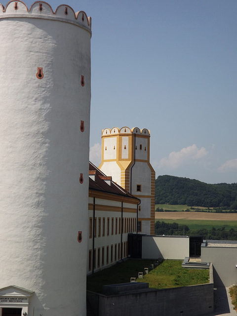 towers of the Abbey