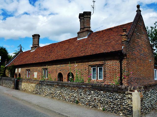 saunders almshouses, flamstead, herts.