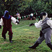 Targai & Marian Fencing at the Queens County Farm Museum Fair, Sept. 2006