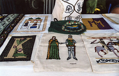 Embroidery Demo at the Queens County Farm Museum Fair, Sept. 2006