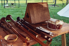 Medieval Instruments Demo at the Queens County Farm Museum Fair, Sept. 2006