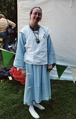 Biya at the Fort Tryon Park Medieval Festival, Oct. 2006