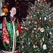 Biya and the Christmas Tree at Broken Bridge's 12th Night Celebration, Dec. 2006