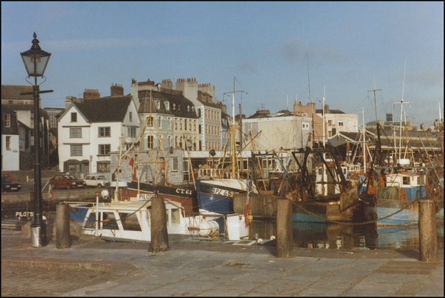 Plymouth Barbican early 80s