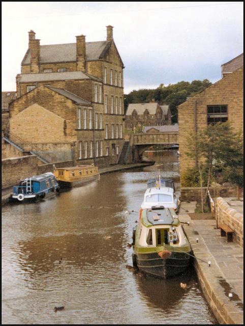 canal at Skipton