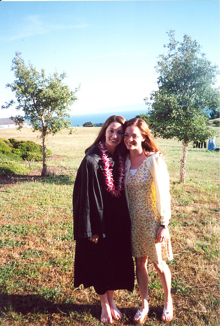 Lauren's Graduation, UC Santa Cruz, 2000