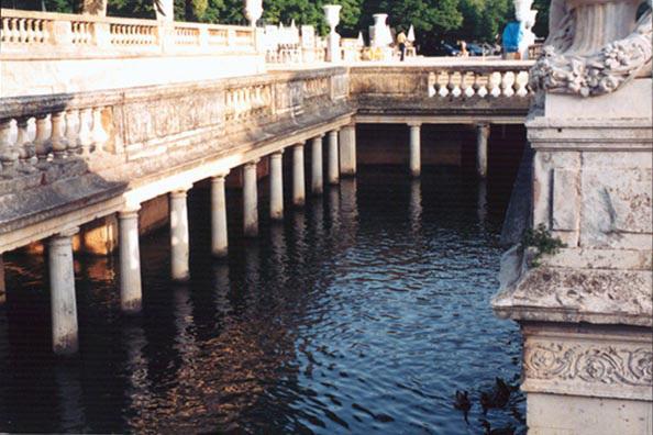 Jardin de la Fontaine in Nimes, 1998