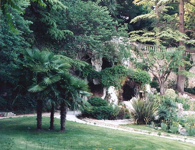Jardin de la Fountaine in Nimes, 1998