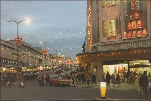 Christmas in New George Street
