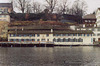 """The """"Schipfe"""" Area of Zurich on the Limmat River, Nov. 2003"""