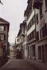 Street in Zurich, 2003