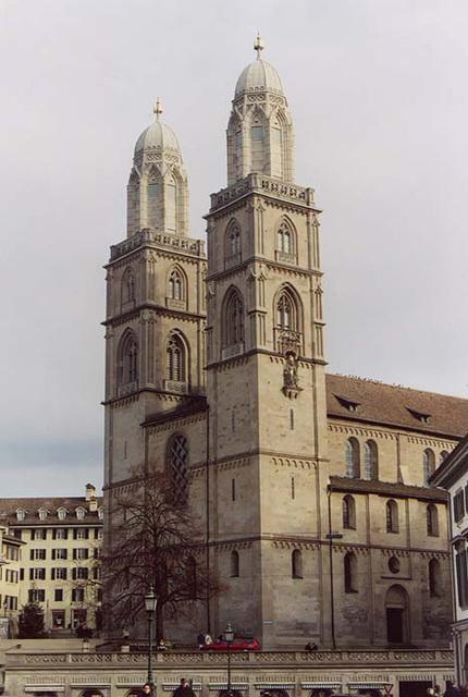 The Grossmunster in Zurich, 2003