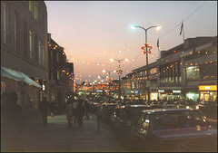 Plymouth Christmas lights