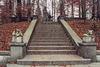 The Staircase at the Oskar Reinhart Museum at Romerholz in Winterthur, Nov. 2003